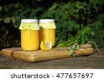 lemon curd | Shutterstock . vector #477657697