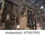 abandoned don valley brickworks ... | Shutterstock . vector #477657931