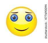 smiling emoticon | Shutterstock .eps vector #477690094