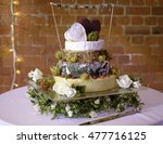 Tiered Cheese Wedding Cake