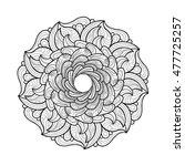 round pattern | Shutterstock .eps vector #477725257