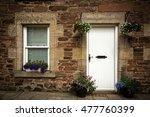 door and window detail of a... | Shutterstock . vector #477760399