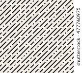 vector seamless black and white ... | Shutterstock .eps vector #477760975