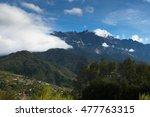 mount kinabalu at kundasang... | Shutterstock . vector #477763315