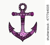 Anchor On White Background....