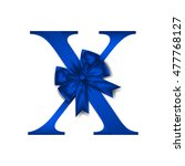 vector design for alphabet x ... | Shutterstock .eps vector #477768127