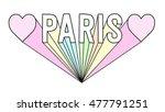 slogan graphic for t shirt | Shutterstock . vector #477791251