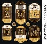 Olive Oil Retro Vintage Gold...