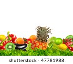 fruit and vegetable collection | Shutterstock . vector #47781988