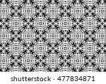 picture with black and white... | Shutterstock . vector #477834871