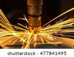 auto nut welding  | Shutterstock . vector #477841495