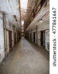 eastern state penitentiary.... | Shutterstock . vector #477861667