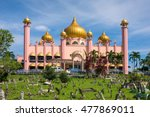 kuching city mosque  masjid... | Shutterstock . vector #477869011