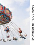 global carnival  bangkok ... | Shutterstock . vector #477870991