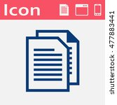 paper documents file vector...