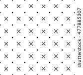 cross patten background. | Shutterstock .eps vector #477885307