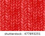 seamless pattern of knitting...