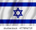 flag of israel | Shutterstock . vector #477896719