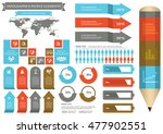 collection of infographic set... | Shutterstock .eps vector #477902551