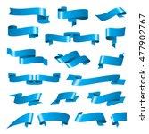 pattern design set of tapes.... | Shutterstock .eps vector #477902767