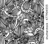 vector black  white and colored ... | Shutterstock .eps vector #477904555