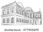 singapore nation museum tourist ... | Shutterstock .eps vector #477905695