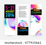 abstract template with... | Shutterstock .eps vector #477915661