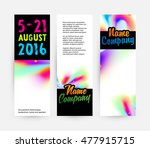 abstract template with... | Shutterstock .eps vector #477915715