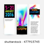 abstract template with... | Shutterstock .eps vector #477915745