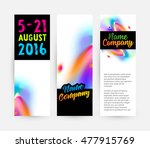 abstract template with... | Shutterstock .eps vector #477915769
