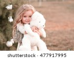smiling baby girl 4 5 year old... | Shutterstock . vector #477917995