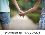 Small photo of Hands of sisters: accompany