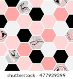 geometric seamless repeating... | Shutterstock .eps vector #477929299