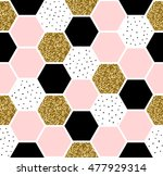 geometric seamless repeating... | Shutterstock .eps vector #477929314