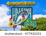 haleiwa  hawaii   august 10 ... | Shutterstock . vector #477932251