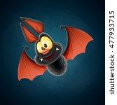 bat vampire  | Shutterstock .eps vector #477933715