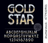 silver and gold glossy vector...   Shutterstock .eps vector #477933901