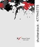 scratch  sketch grunge dirt... | Shutterstock .eps vector #477945775