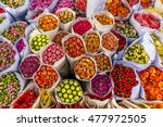 bouquets of flowers at the hong ... | Shutterstock . vector #477972505