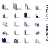 Isometric Low Poly Skyscrapers...