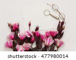 top view of beautiful pink... | Shutterstock . vector #477980014