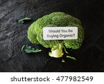 broccoli with should you be... | Shutterstock . vector #477982549