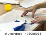 the production line in... | Shutterstock . vector #478005085