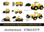 construction equipment... | Shutterstock .eps vector #478015579