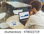 serious businessman using...   Shutterstock . vector #478022719