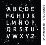 vector modern hand written...   Shutterstock .eps vector #478030591
