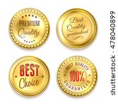 best choice quality premium 4... | Shutterstock . vector #478040899