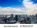 view of tokyo city in winter... | Shutterstock . vector #478042537