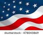 background america   Shutterstock .eps vector #478043869