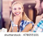 portrait of smiling female...   Shutterstock . vector #478055101